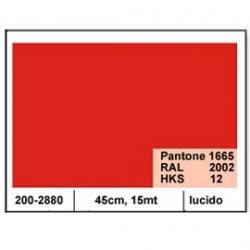 PLASTICA ADESIVA DC-FIX 45CM X 15MT ROSSO 106 LUCIDO
