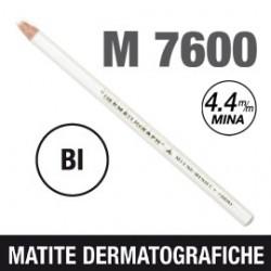 MATITA DERMATOGRAFICA 7600 BIANCO