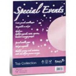 CARTA METALLIZZATA SPECIAL EVENTS 120GR A4 20FG BIANCO 01