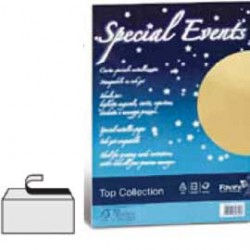 CARTA METALLIZZATA SPECIAL EVENTS 250GR A4 10FG BIANCO 01