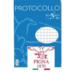 PROTOCOLLO A4 4MM 200FG 80GR PIGNA