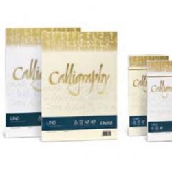 CARTA CALLIGRAPHY LINO 200GR A4 50FG AVORIO 02