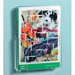 PORTADEPLIANT COMPONIBILI 1 TASCA A4 DA PARETE ART.5029