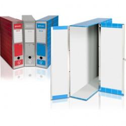 SCATOLA ARCHIVIO BOX1 ROSSO 37,5X29,5X9CM