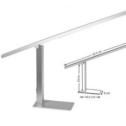 LAMPADA A LED 3W 9074 METALLO SATINATO ALCO