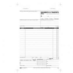 BLOCCO DDT 29.7X22CM 33fg 3 copie AUTORIC. E5219CT