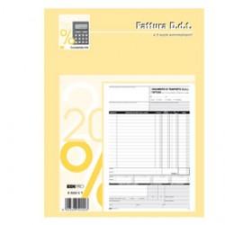BLOCCO DDT/FATTURA 29.7X22CM 33fg 3 copie AUTORIC. E5222CT