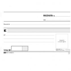 BLOCCO RICEVUTE GENERICHE 33FOGLI 3 COPIE AUTORIC. 9,9X17 E5564CT