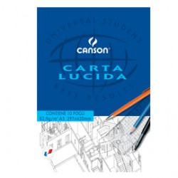 BLOCCO CARTA LUCIDA MANUALE 210x297mm 10FG 80GR CANSON