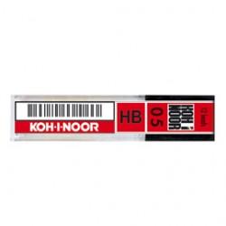 ASTUCCIO 12 MICROMINE 0,5mm 2B E205 KOHINOOR