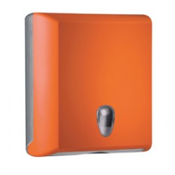 DISPENSER ASCIUGAMANI PIEGATI ORANGE SOFT TOUCH