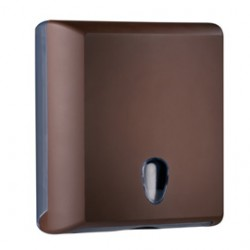 DISPENSER ASCIUGAMANI PIEGATI BROWN SOFT TOUCH