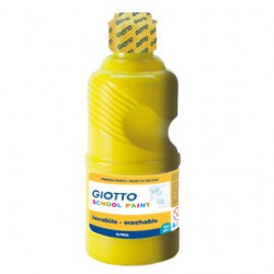 TEMPERA PRONTA 250ML lavabile GIOTTO GIALLO
