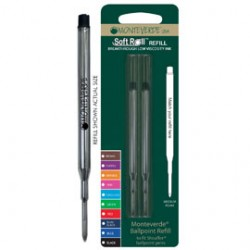 Blister 2 refill per SFERA Sheaffer  NERO PUNTA MEDIA