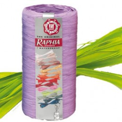 PACK NASTRO RAPHIA SYNTETIC 200mt VERDE 33 BOLIS