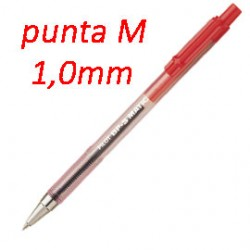 PENNA SFERA SCATTO BP-S MATIC ROSSO MEDIA 1.0MM PILOT