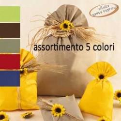 100 BUSTE REGALO IN PPL MAT A everyday classic 25x40cm 5 colori classici