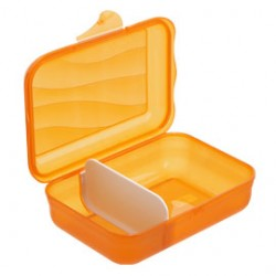 CONTENITORE VESPER BOX 17,7x12,9x5,9cm - 0,9Lt ARANCIO Take-away