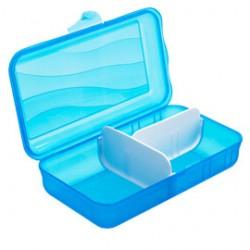 CONTENITORE VESPER BOX 24,7x14,5x6,7cm - 1,7lt AZZURRO Take-away