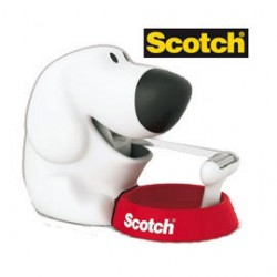 DISPENSER FIDO C31 + 1 ROTOLO SCOTCH MAGIC 810 19MMX7,5M