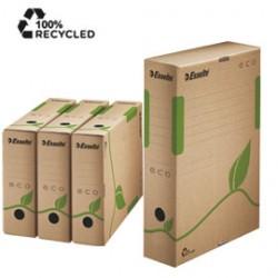SCATOLA ARCHIVIO EcoBox 80 32,7x23,3x8cm ESSELTE