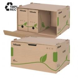 SCATOLA CONTEINER EcoBox 34x43,9x25,9cm apertura laterale ESSELTE