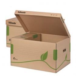 SCATOLA CONTEINER EcoBox 34x43,9x25,9cm apertura superiore ESSELTE