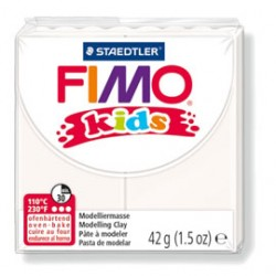 PASTA POLIMERICA FIMO KIDS 42gr BIANCO