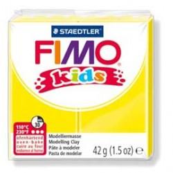 PASTA POLIMERICA FIMO KIDS 42gr GIALLO