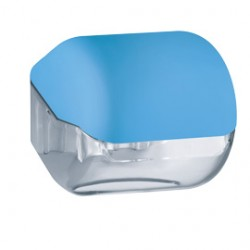 DISPENSER CARTA IGIENICA AZZURRO SOFT TOUCH
