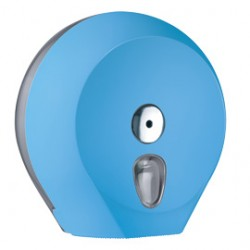 DISPENSER CARTA IGIENICA MIDI JUMBO AZZURRO SOFT TOUCH
