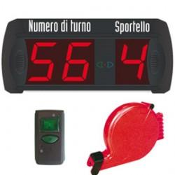 KIT COMPLETO ELIMINA CODE Multifunzione (2 Numeri + 9 sportelli) Printex