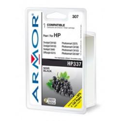 CARTUCCIA NERA PER HP N337 DJ 6980, 6940, 5940, Photosm. C4180 Serie 20ML