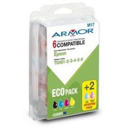 CONF. MULTIPLA 5 CARTUCCE LC 900 PER C/BROTHER (2BK 1C/M/Y)