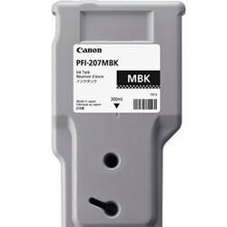 INK CARTRIDGE PFI-207MBK NERO MATTE 300ml