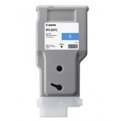 INK CARTRIDGE PFI-207C CIANO 300ml