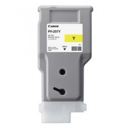 INK CARTRIDGE PFI-207Y GIALLO 300ml