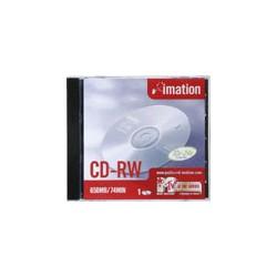 SCATOLA 10 CD-RW SHOWBOX 700MB 1X-4X 80MIN.