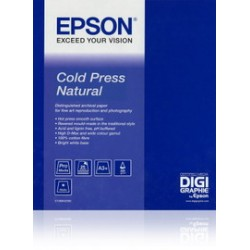 EPSON COLD PRESS NATURAL PAPER, IN ROTOLI DA 43, 18CM X 15, 2M