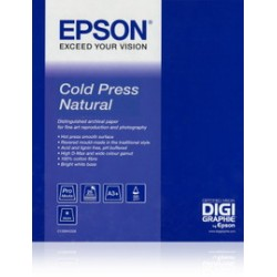 EPSON COLD PRESS NATURAL PAPER, IN ROTOLI DA 111, 8CM X 15, 2M