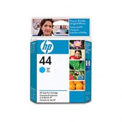 CARTUCCIA A GETTO DINCHIOSTRO HP N.44 CIANO 42ML