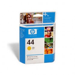 CARTUCCIA A GETTO DINCHIOSTRO HP N.44 GIALLO 42ML