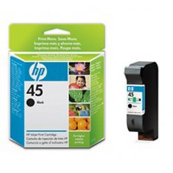 CARTUCCIA A GETTO DINCHIOSTRO HP N.45 NERO 42ML
