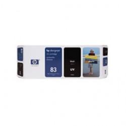 CARTUCCIA A GETTO DINCHIOSTRO UV HP N.83 NERO 680ML