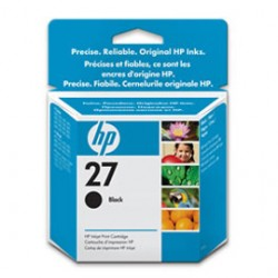 CARTUCCIA A GETTO DINCHIOSTRO HP N.27 NERO 10ML