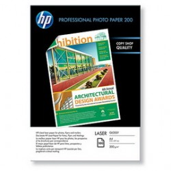 RISMA 100 FG HP PROFESSIONALE GLOSSY PHOTO PAPER 200g/ m2 A4 LASER