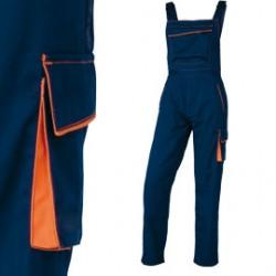 SALOPETTE da LAVORO M6SAL blu/arancio Tg. XL PANOSTYLE