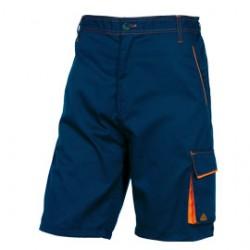 BERMUDA da LAVORO M6BER blu/arancio Tg. XL PANOSTYLE