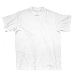 T-Shirt BASIC Napoli BIANCO Tg. XL 100 COTONE