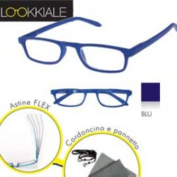 OCCHIALE DIOTTRIE +1,00 mod. SMART blu LOKKIALE